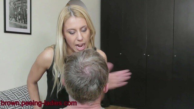 scat-ladies.com - movie update - Princess Nikkis Human Toilet has to Swallow